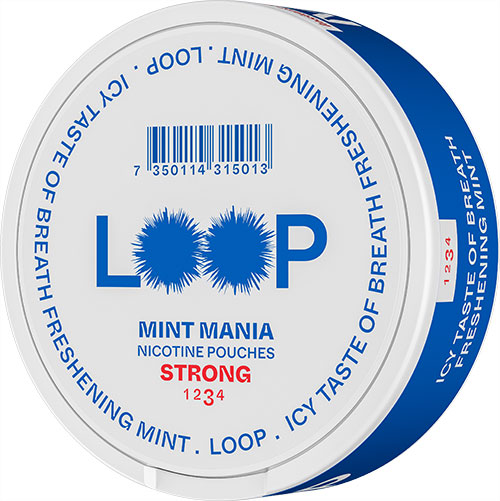 Snus Can - Mint Mania Strong